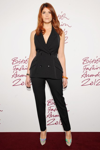 Stella McCartney jumpsuit-Gemma-Arterton